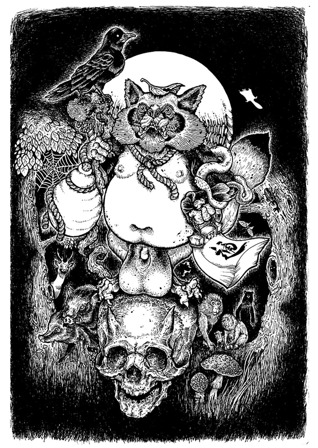 resize_pics_3 「フジロックが江戸時代にあったなら」を描いたのは誰? 富士祭電子瓦版のキービジュアルにまつわるお話。