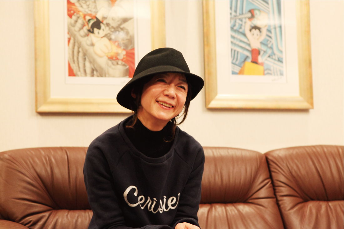 """tezuka_001_2 手塚るみ子、インタビュー後編""""用意されたフジロックではなくて、自由に楽しんでもらいたい"""""""