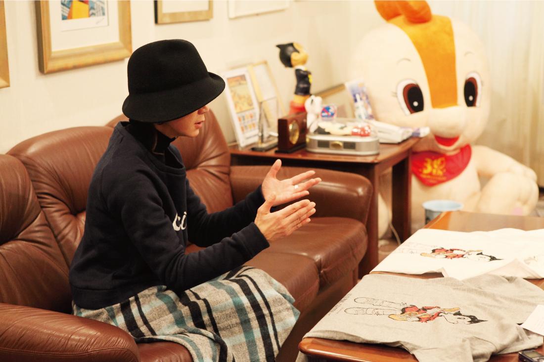 """tezuka_002_2 手塚るみ子、インタビュー後編""""用意されたフジロックではなくて、自由に楽しんでもらいたい"""""""