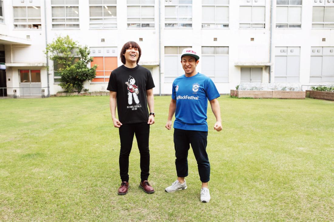 chito_009 フジロックTシャツであのお笑い番組に出演? チーモンチョーチュウのフェスTシャツ談義
