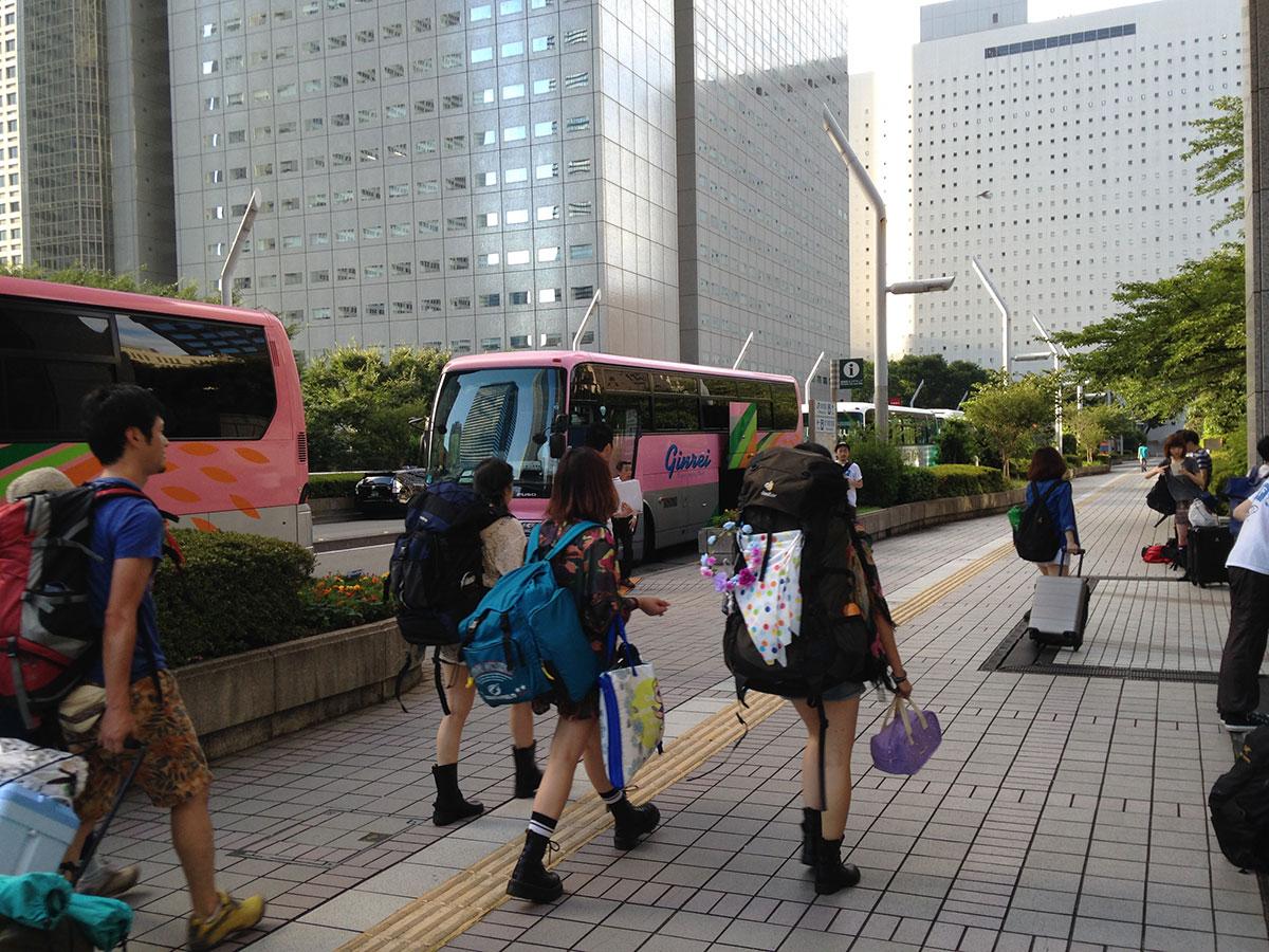 2 【オフィシャルツアーレポート】あの女子大生がついに初フジロックに!