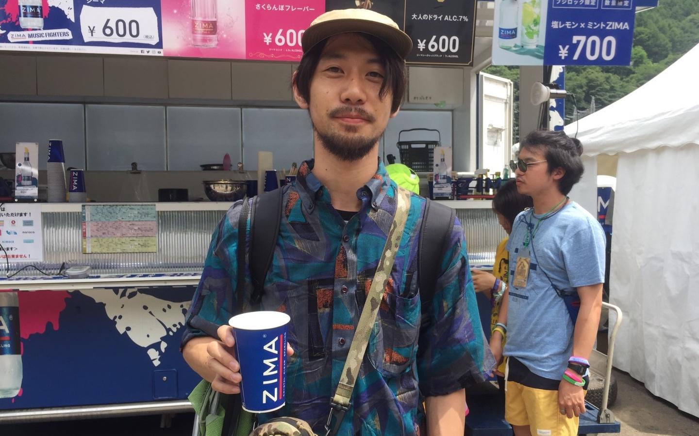 zima_fuji_sanap02 【レポート】<フジロック'17>ZIMAブースは今年も大行列!インスタジェニックな「ジーマ ソルティレモン」が大人気