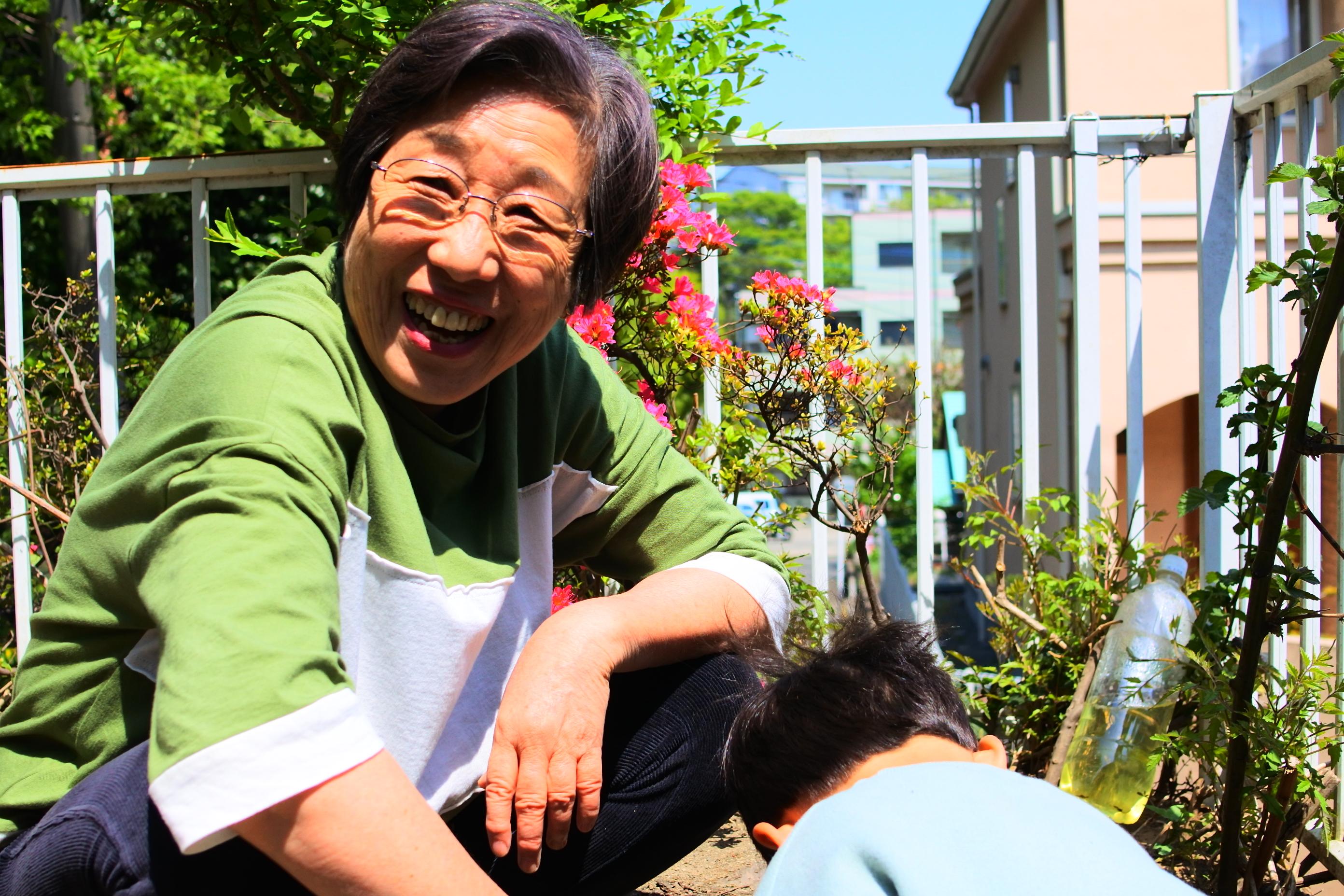 4-1 保育界の風雲児「柴田 愛子」に訊く、<br>子どもをフジロックへ連れて行くのは○か×か