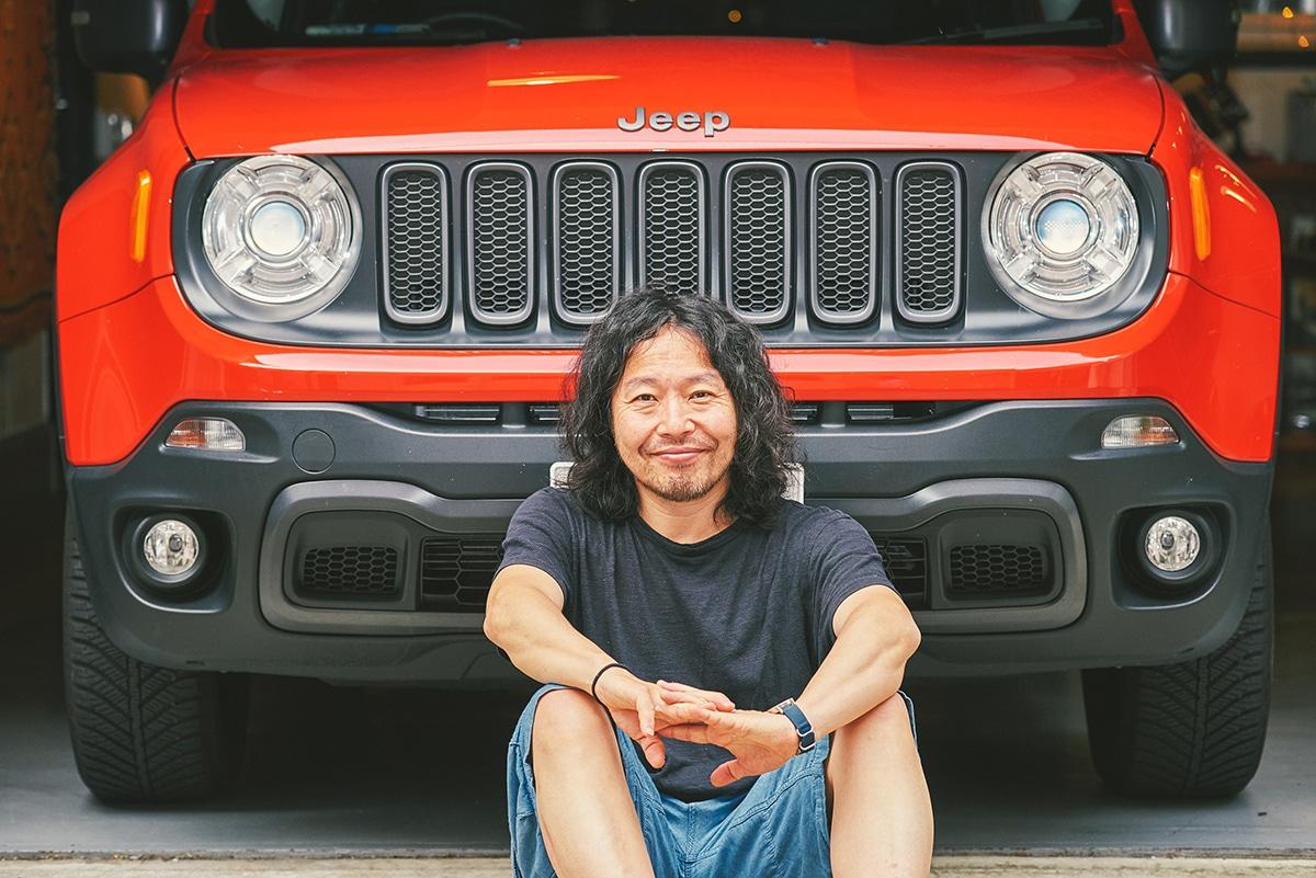 01-0718 Jeep® Renegadeにぞっこんの曽我部恵一が勧める、フジロックの原点をリスペクトする特別な1曲とは?