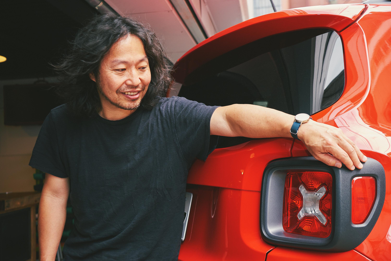 02-6 Jeep® Renegadeにぞっこんの曽我部恵一が勧める、フジロックの原点をリスペクトする特別な1曲とは?
