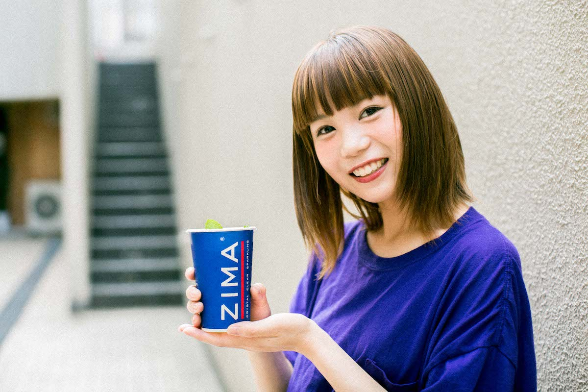 06-7 ZIMA大好きMINT mate boxやすだちひろが体験、「ジーマ ソルティ レモン」とフジロックへの憧れ。