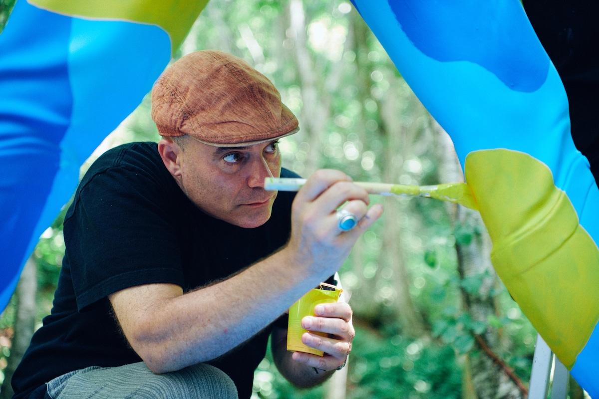 "07-6 JOHNNIE WALKER初参戦!フジロックだけで飲めるジョニーハイボール 「""FUJI ROCK""スタイル」&フジロックの森でペイントしたストライディングマンとは!?"