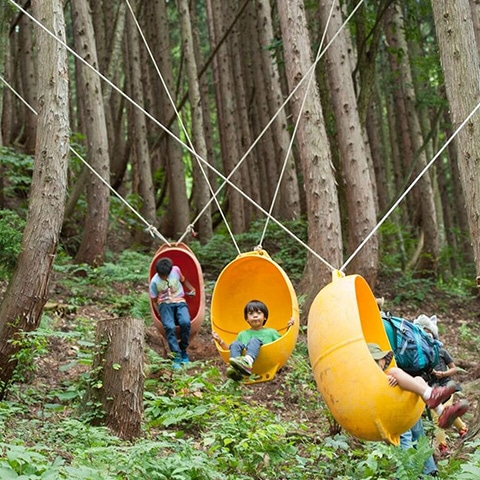 13-5 【こどもフジロック】KIDS LANDの守り人「ヤス」こと渡部 靖成に訊く、KIDSの森の話