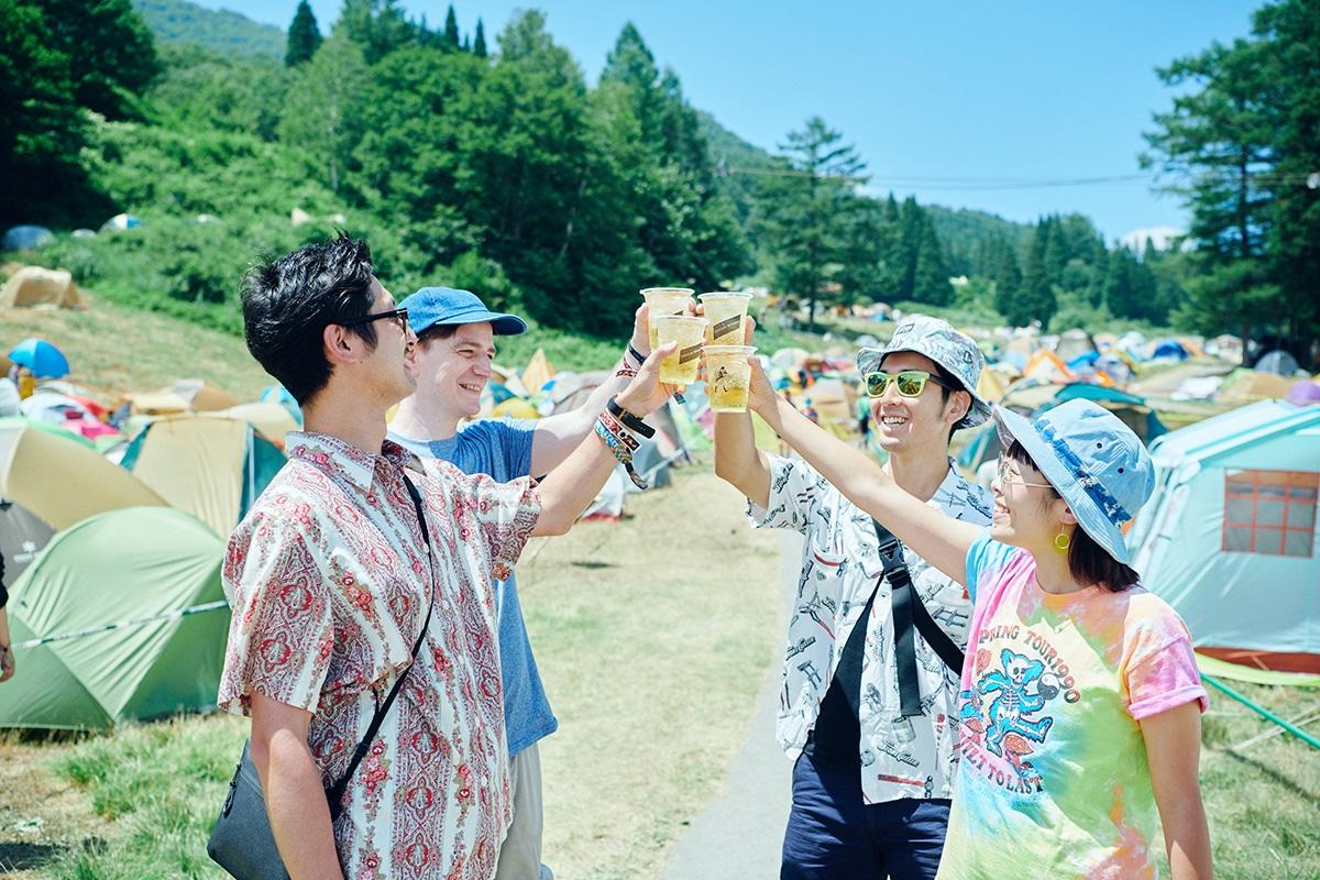 """08 「ジョニーハイボール """"FUJI ROCK""""スタイル」体験レポート!"""