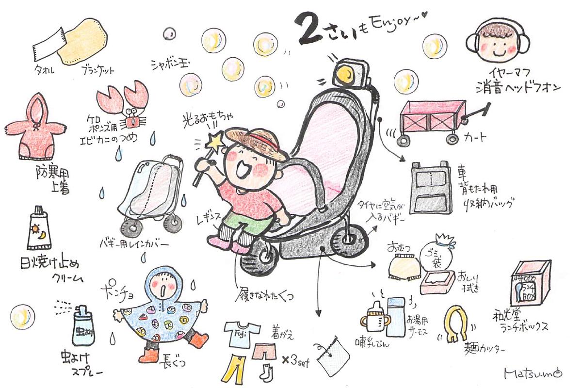 190328_kodomofuji_2 【こどもフジロック】子連れフェス準備を楽しもう! 〜1歳、2歳、3歳〜