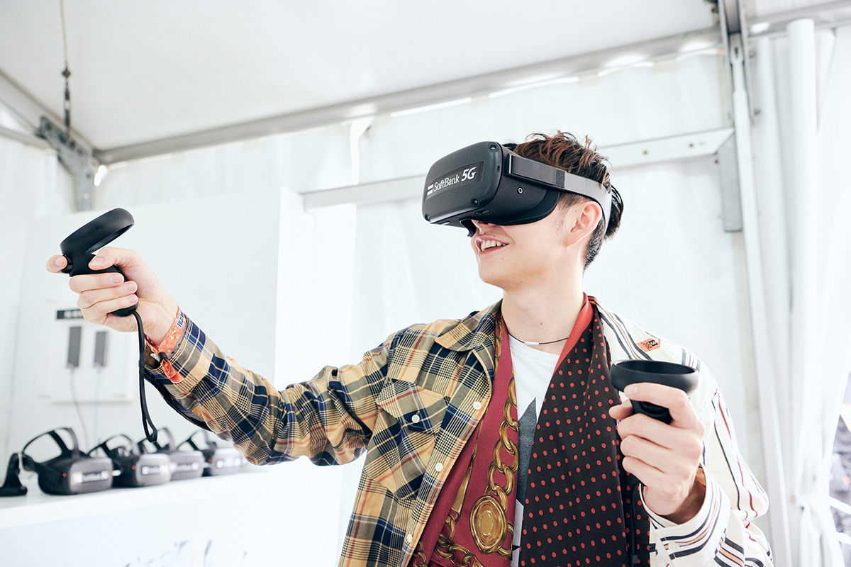 1908_softbank_report_06 今年のフジはここがすごかった!ハリー杉山も驚きのSoftBank「5G VR STUDIO」体験レポート!