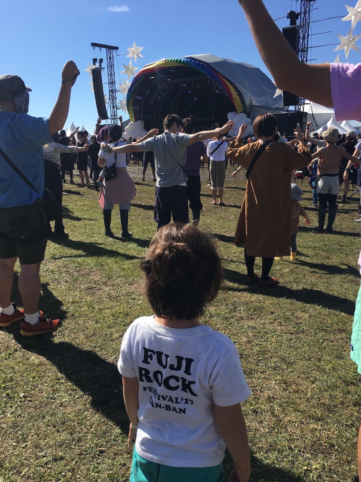 49 【こどもフジロック】朝霧Jam'18子連れフェス体験記〜3歳児とのキャンプ・イン・フェスの過ごし方〜