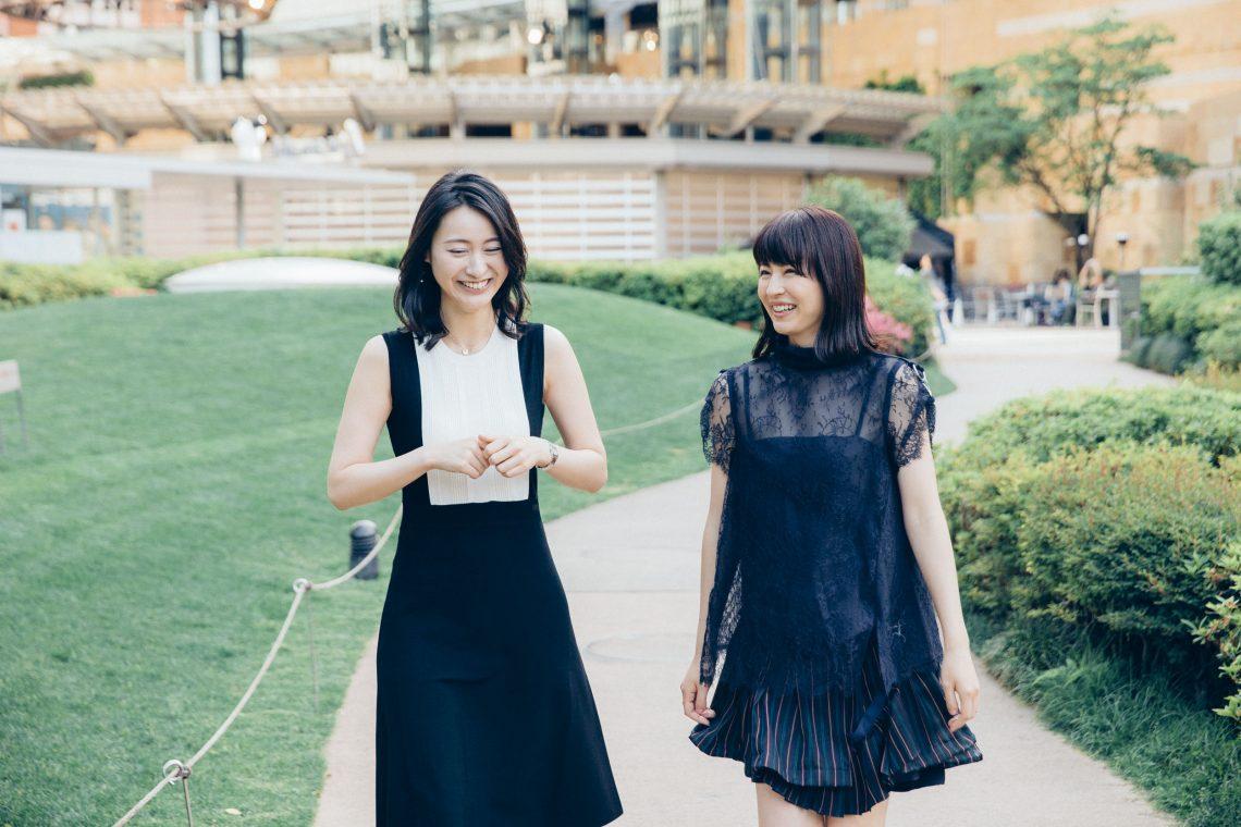 F7Q4830-1140x760 平井理央×小川彩佳、フジロック好き女子アナ初対談!2人がフジでレポート番組をやるとしたら?