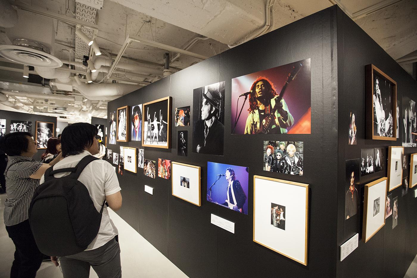m-0068 【レポート】ロックの歴史が凝縮。フジロックファンも必見のボブ・グルーエン写真展