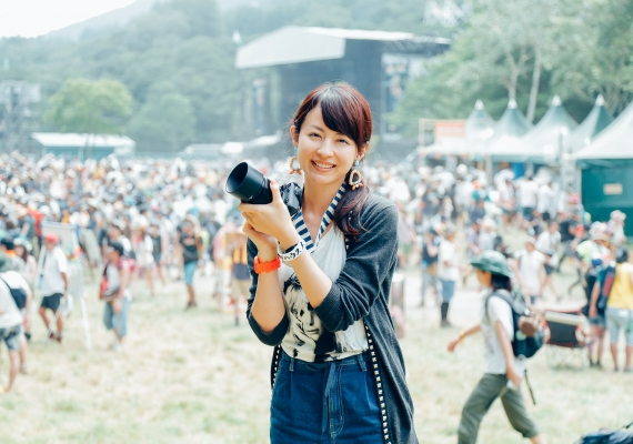 平井理央が撮る20th Anniversary FUJI ROCK FESTIVAL'16