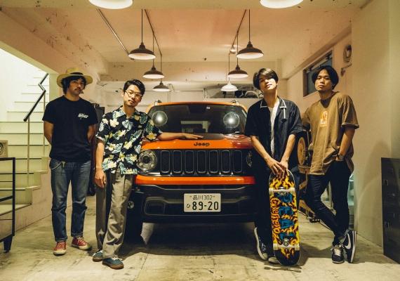 Yogee New Wavesが語るクルマ×<フジロック>。Jeep® Renegadeの感想やフジへの意気込みとは?