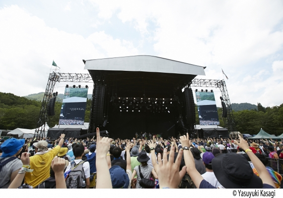 FUJI ROCK FESTIVAL'17特典付き『早い割引チケット』発売決定!